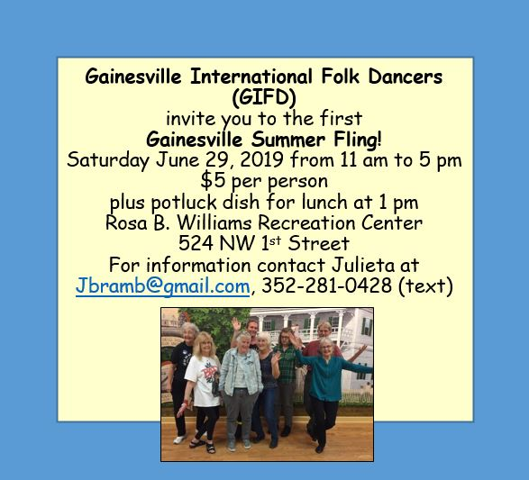 Florida International Folk Dance